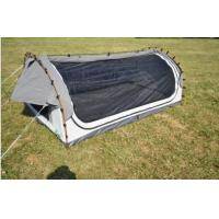 Best Fire Prevention 2 Person Swag Tent , Canvas Camping Swag Tent Sun Shelter wholesale