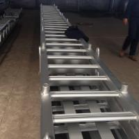 China ABS Marine Boarding Ladder Aluminum Accommodation Ladder For Ship on sale