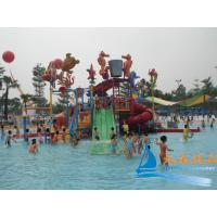 Best Outdoor Commercial Safe Fiberglass Water Playground Slides Equipment for Kids, Adults wholesale