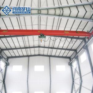 China 20m Span Q235b Single Girder Overhead Crane Safe Operation Customized Color on sale