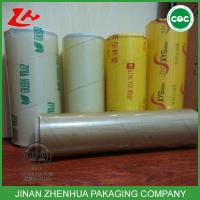 Best high quality food grade pvc cling film wholesale
