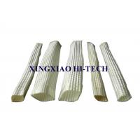 Best White Color Wall Braided Heat Insulation Sleeve Flame Retardant 2.0 - 150mm wholesale