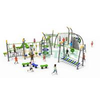 China Large Multifunctional Climbing Outdoor Gym Slide Outdoor Playground Equipment For Kids on sale