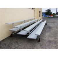 Best Removable Metal Bleacher Seats With Anodized Aluminum Seat Planks wholesale