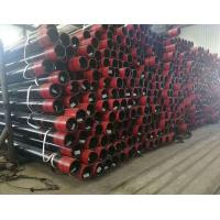 China Hot Rolled Well Casing Pipe / Oil Drilling Pipe Nu Eu Thread Type QHSE certification on sale