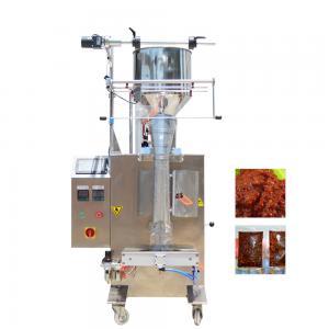 China Pillow Seal Honey Sachet Packing Machine , Vertical Liquid Packing Machine on sale