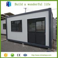 China 2017 prefabricated fashion living container houses and cabins for living areas on sale