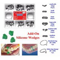Best Stainless Steel Dental Dental Sectional Contoured Matrices Assorted Kit wholesale