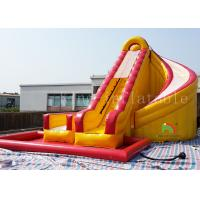 China Summer Slip Water Park Ocean Type Inflatable Outdoor Water Slide For Kids on sale