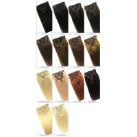 Best Clip in Human Hair Straight Wavy Clip in Hair Extensions for Black Women wholesale