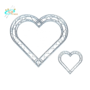 Best Custom 1.5m Arch Love Background Round Wedding Truss wholesale