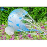 Best Multi-color Floating Silicone Artificial Jellyfish Decoration For Underwater World wholesale