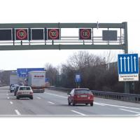 Buy cheap Traffic Control Variable Speed Signs Free Standing 5000 cd/M2 700mm x 650mm product