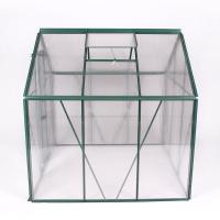 Best 4x8FT aluminum greenhouse with only one side wholesale