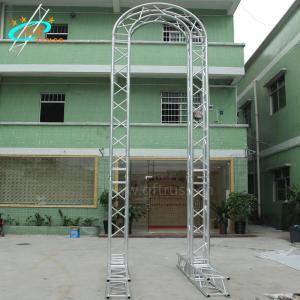 Best Modern Arch Wedding Backdrop Stand Truss  Aluminum Frame wholesale