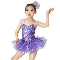 Best Sequins Hem Tires Dress Girls Dance Costume Dresses Holograms Sequins Sweetheart Top With Sequins Straps wholesale