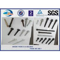 Buy cheap ZhongYue Railway Sleeper Screws Rail Fasteners With Color Painting product