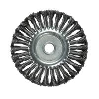 China Single Section Spare Washer Knotted Wire Wheel Brush Alloy Sponge Surface on sale
