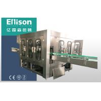 Beverage Glass Bottle Filling Machine For Juice And Non Carbonated Liquid