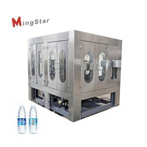Best Plc High Efficient Plastic Bottle Filling Machine , Liquid Filling Equipment wholesale