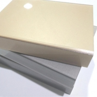 China 1mm acrylic sheet faced mdf for cabinet on sale