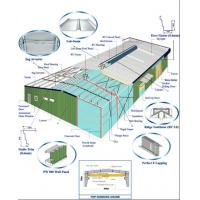 Cheap Steel Buildings Kits, Corrugated Roofing And Wall Panels System For Metal Building for sale