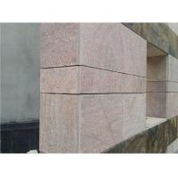 Best Natural G682 Granite Stone Slabs Rusty Pink Granite With Polished Surface wholesale