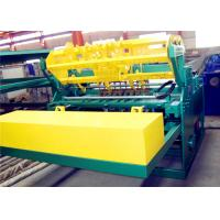 China High Speed Welded Wire Mesh Machine 50-200mm Longitude Wire Space Power Saving on sale