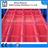 Best Hydraulic Pump Roofing Sheet Roll Forming Machine 840mm Cover Width wholesale
