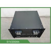 Buy cheap 19'' Rack 10.24KWh 51.2V 200Ah Telecom Back Up Battery from wholesalers