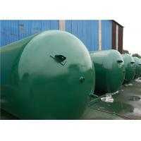 Best ASME Approved Horizontal Air Receiver Tanks For Air Compressors Systems wholesale