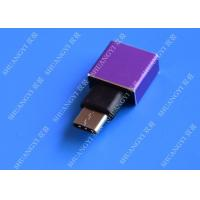 Buy cheap USB 3.1 Type C to USB 3.0 A Adapter OTG Micro USB Female High Contact Efficiency from wholesalers