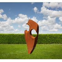 Best Abstract Corten Steel Product with its Original Color as Outdoor Lawn Decoration wholesale