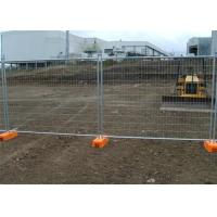 Best Hot Dipped Galvanized Wire Mesh Fence Removable Temporary Fence wholesale