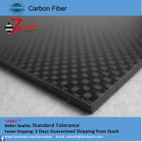 Best 2.0mm thickness 500mm width carbon fiber plate laminated sheet wholesale