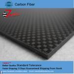 Best High Strength Reinforced Plastic 3K Carbon Fiber Plate , Matte Plain Carbon Fiber Sheets wholesale