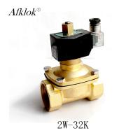 Best Brass 1-1/4 inch Normally Open Air Water Solenoid Valve AC 24V wholesale