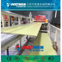 Best PVC ceiling panel extrusion machine plastic wall board extrusion line wholesale
