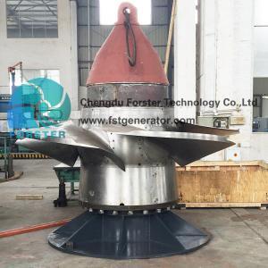 China 600-1000rpm/ Min Kaplan Turbine Generator For Mini Hydro Power Plant on sale