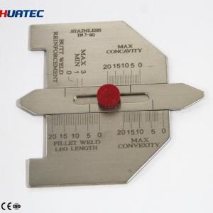 Best Automatic Weld Size Weld Gage Cambridge Type Weld Gauge  Welding Gauge Series Taper gauge wholesale