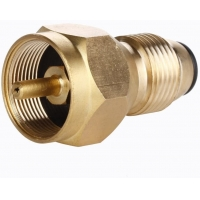 China Female Connection Brass Propane Tank Gas Refill Adapter on sale