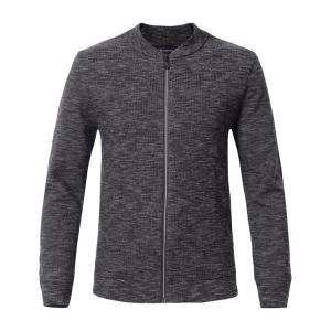 Best Blank Crew Neck Mens Winter Cardigan Sweaters With Zipper Long Sleeve wholesale