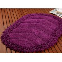 China Absorbent Cheap Microfiber Bathroom Mat Anti-Slip Shaggy Surface Modern Style Mat on sale