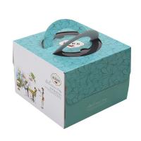 China Delicate Corrugated Cardboard Gift Boxes , Birthday Cake Packaging Boxes on sale