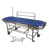 China Stainless Steel Frame Patient Transfer Stretcher With Removable Bed Top Board on sale