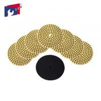 Best Concrete Granite Wet Diamond Polishing Pads 7 Grits OEM Service Easy To Use wholesale