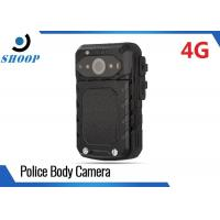 Quality LTE 3G / 4G WIFI Bluetooth Body Camera Recorder , Small Police Using Body Cameras for sale