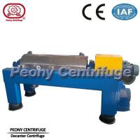 Horizontal Separating Crude Palm Oil Decanter Centrifuge For Beverage Technology