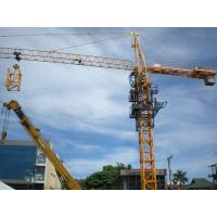 Buy cheap Self Erecting Tower Cranes with Cantilever Slewing Lifting product