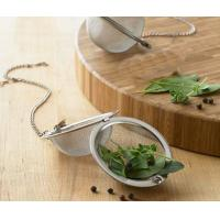 China Stainless steel mesh tea strainer/filter/infuser/tea ball,Stainless steel tea ball filter on sale